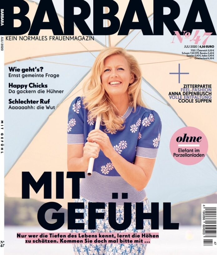 Cover BARBARA 07/2020 (EVT: 04.06.2020) / Weiterer Text über ots und www.presseportal.de/nr/118476 / Die Verwendung dieses Bildes ist für redaktionelle Zwecke honorarfrei. Veröffentlichung bitte unter Quellenangabe: