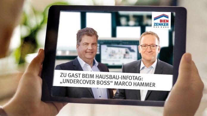 Marco Hammer berichtet beim Bien-Zenker Hausbau-Infotag exklusiv von seinen Erfahrungen als