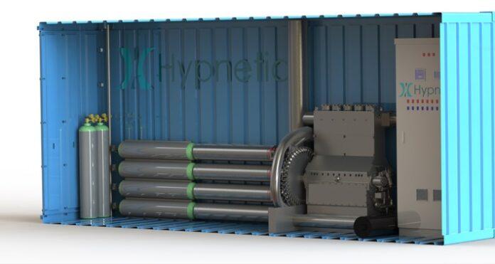 CAD-Modell des Energiespeicher-Prototypen von Hypnetic / Weiterer Text über ots und www.presseportal.de/nr/53528 / Die Verwendung dieses Bildes ist für redaktionelle Zwecke honorarfrei. Veröffentlichung bitte unter Quellenangabe: