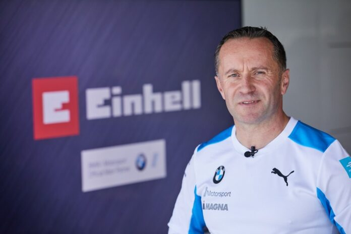 Roger Griffiths, Team Principal von BMW i Andretti Motorsport. Weiterer Text über ots und www.presseportal.de/nr/60991 / Die Verwendung dieses Bildes ist für redaktionelle Zwecke honorarfrei. Veröffentlichung bitte unter Quellenangabe: