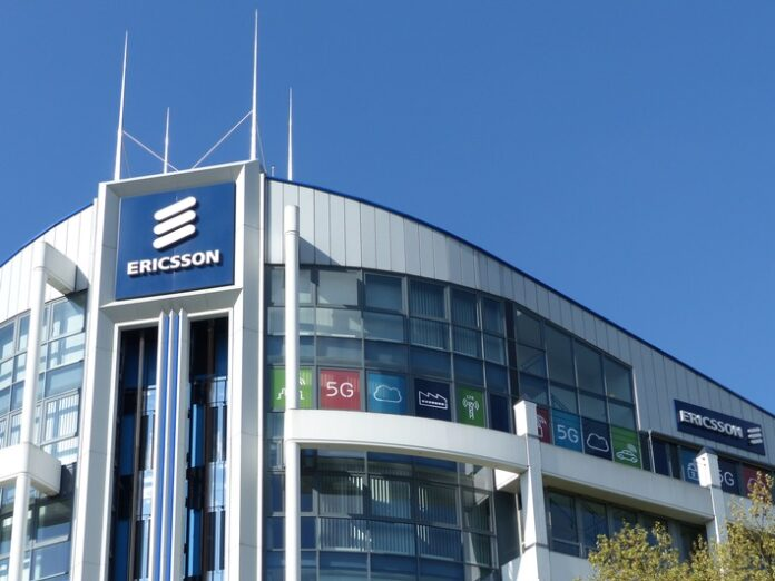 Die Ericsson-Firmenzentrale für den Markt Westeuropa in Düsseldorf. Weiterer Text über ots und www.presseportal.de/nr/13502 / Die Verwendung dieses Bildes ist für redaktionelle Zwecke honorarfrei. Veröffentlichung bitte unter Quellenangabe: